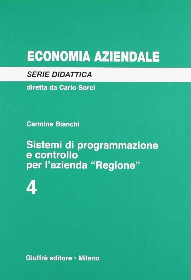 Sistemi di programmazione e controllo per l'azienda Regione